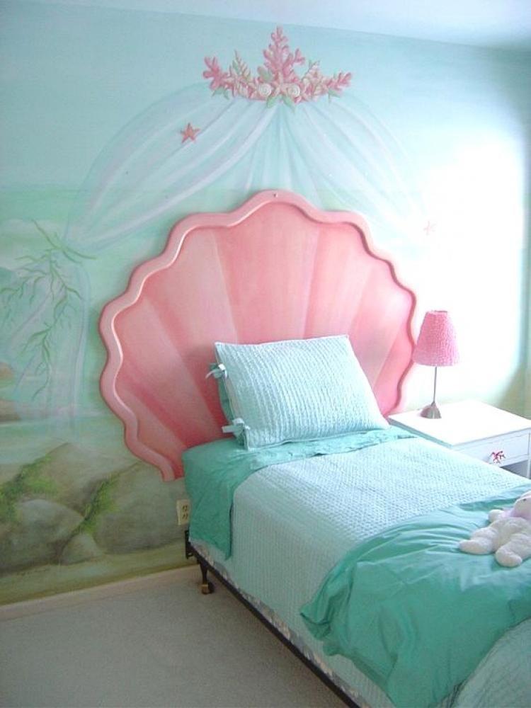 Beautiful Mermaid Bedroom Ideas for Girls #mermaidbedroom