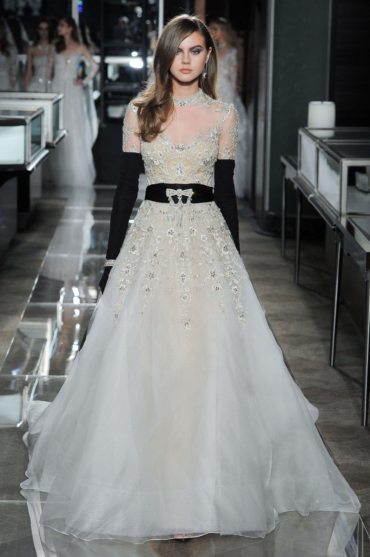 Reem acra bridal spring fashion show bridal pinterest