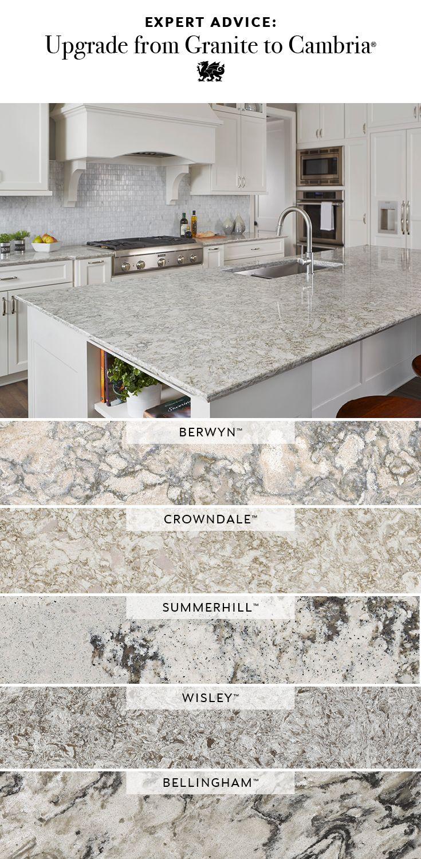 Cambria Vs Granite Home Remodeling Renovation Kitchen Remodel