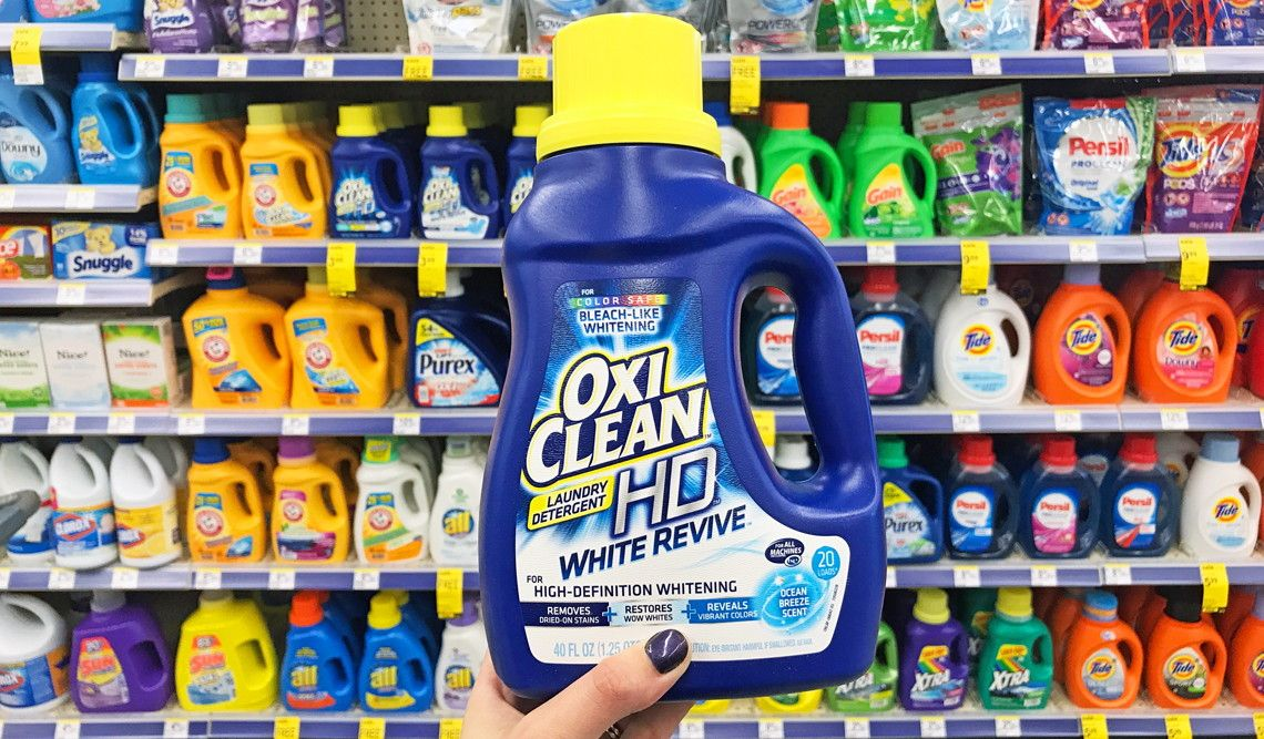 2 Days Left Oxiclean Laundry Detergent Only 0 99 At Walgreens
