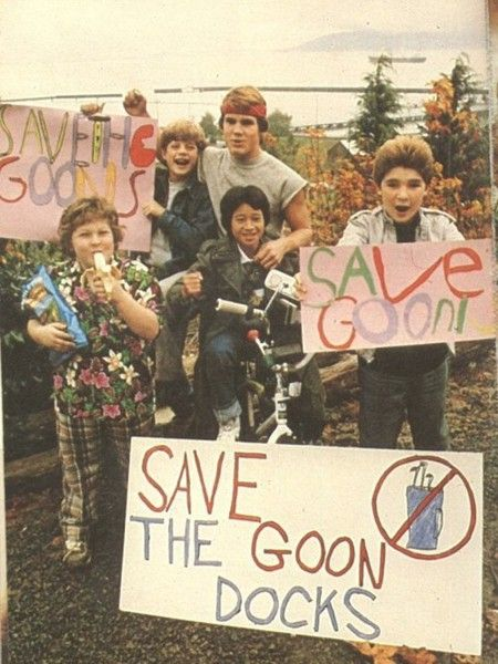 Art Save the Goon Docks! love-it