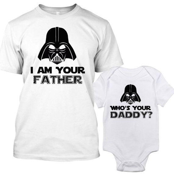 81565ae20 Star Wars Matching Shirts, Who's Your Daddy Shirt, I Am Your Father Shirt,  Daddy Daughter Shirts, Matching Dad and Son, Father and Son Gifts