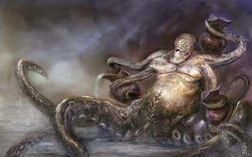 Ipidia: Artista transforma Signos do Zódiacos como se fossem monstros, muito real, belo trabalho