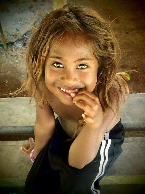 Naturally Blonde Hair Africans Of Tbe Solomon Islands Melanesian