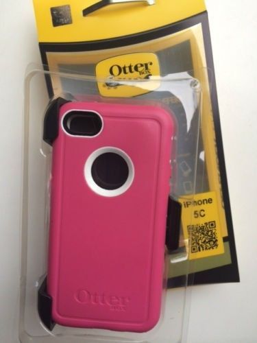 separation shoes 0193f 6e0de New Otterbox Defender Series for iPhone 5c Pink White - Retail ...