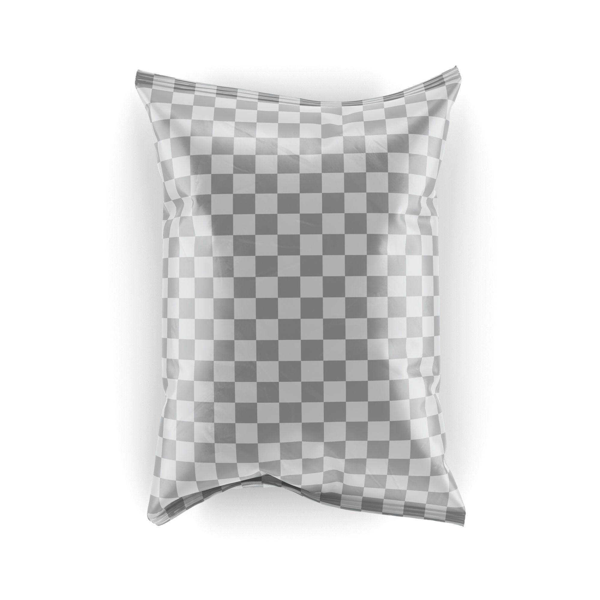 Download Chips Bag Mockup Set Glossy Matte Bag Mockup Chip Bag Throw Pillows