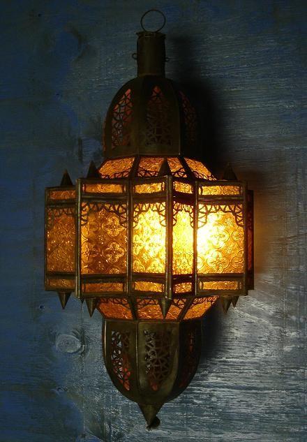 Anelka Lantern Moroccan Style Outdoor Light Fixtures
