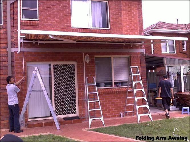Sydney Folding Arm Awnings by Davonne | Awning ...
