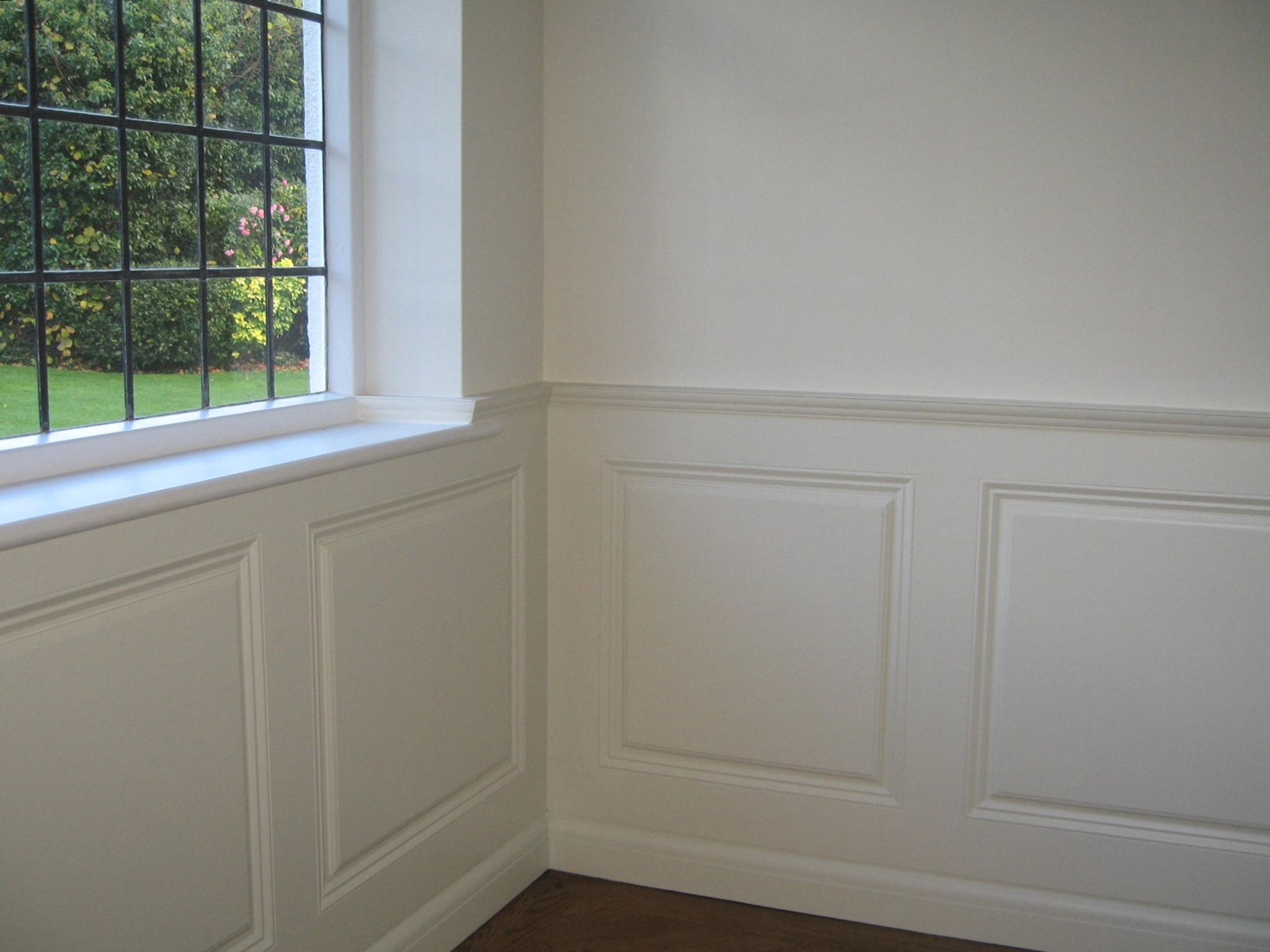 wainscoting panel moulding | ... unique and designed to match the ...