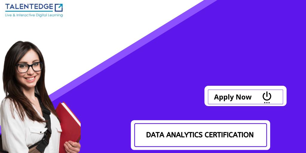 Data Analytics Certification Marketing campaigns, Data