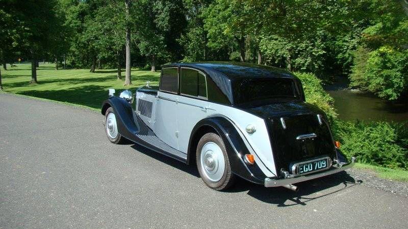 1937 Bentley 4 1/4Litre Freestone And Webb CloseCoupled