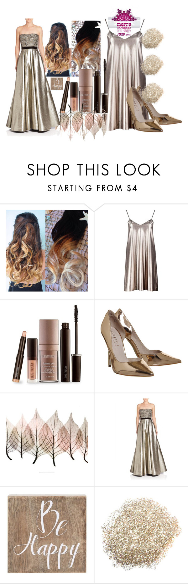 """Bez naslova #131"" by rikyy on Polyvore featuring Boohoo, Laura Mercier, Artistica, Pamella, Pamella Roland i Belle Maison"