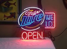 Miller lite open beer neon sign high life bar light obo noen bar miller lite open beer neon sign high life bar light obo aloadofball Gallery