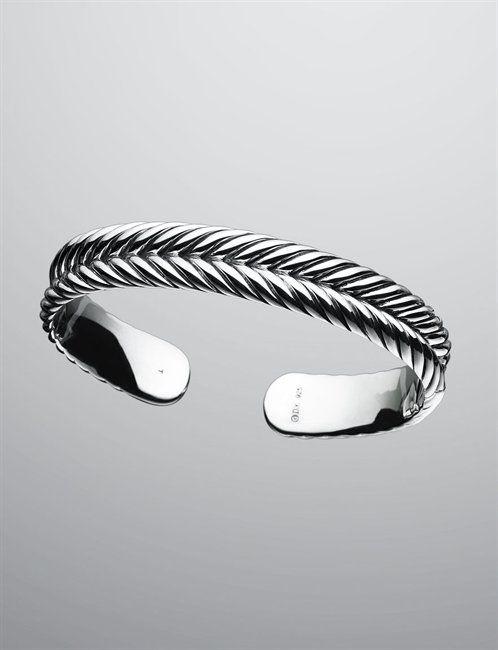Miss My Bracelet Time To A New One David Yurman Men Bracelets 7mm Chevron Cable Cuff
