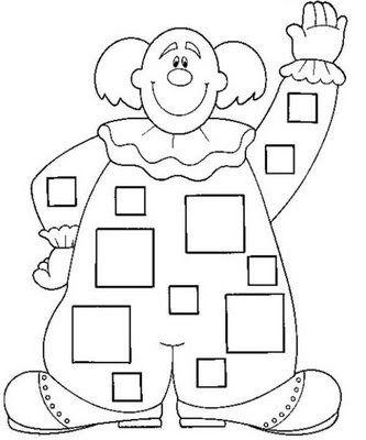 Formas geométricas para colorear Ficha infantil de formas ...