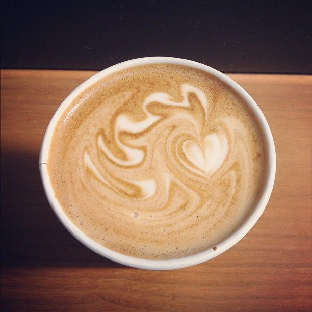 My Delicious Latte This Morning At Blue Bottle SF