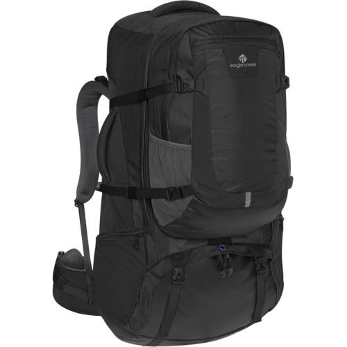The Eagle Creek Women's Rincon Vita 75L Travel Pack carries your gear from destination to destination, and it has a detachable daypack so you can bring just what you need on day hikes and tours. The women-specific fit means you won't be shouldering an unwieldy man-sized pack.