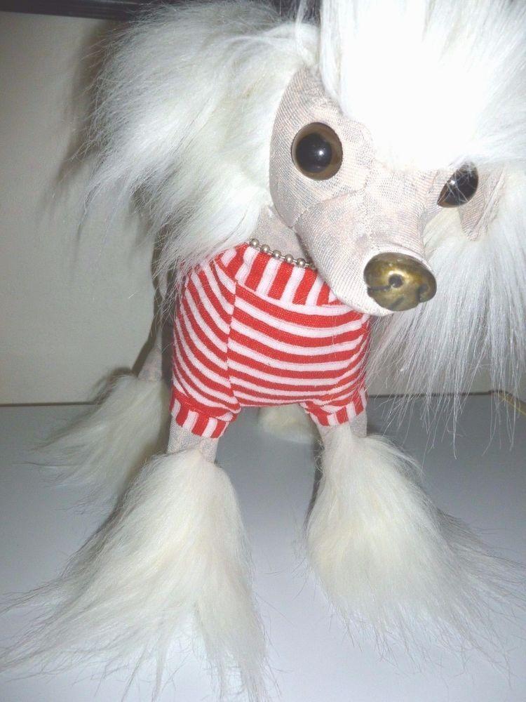 Fuzzy Nation Dog Chinese Crested Plush