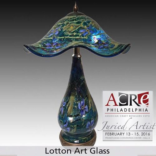 Meet Charles Lotton of Lotton Art Glass - Exhibiting at ACRE Philadelphia February 13 - 15, 2016! www.ACREPhiladelphia.com #ACREPhilly #LottonArtGlass #CharlesLotton