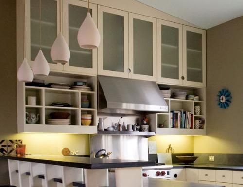 kitchen cabinets opaque glass - Google Search | Interior Design is ...
