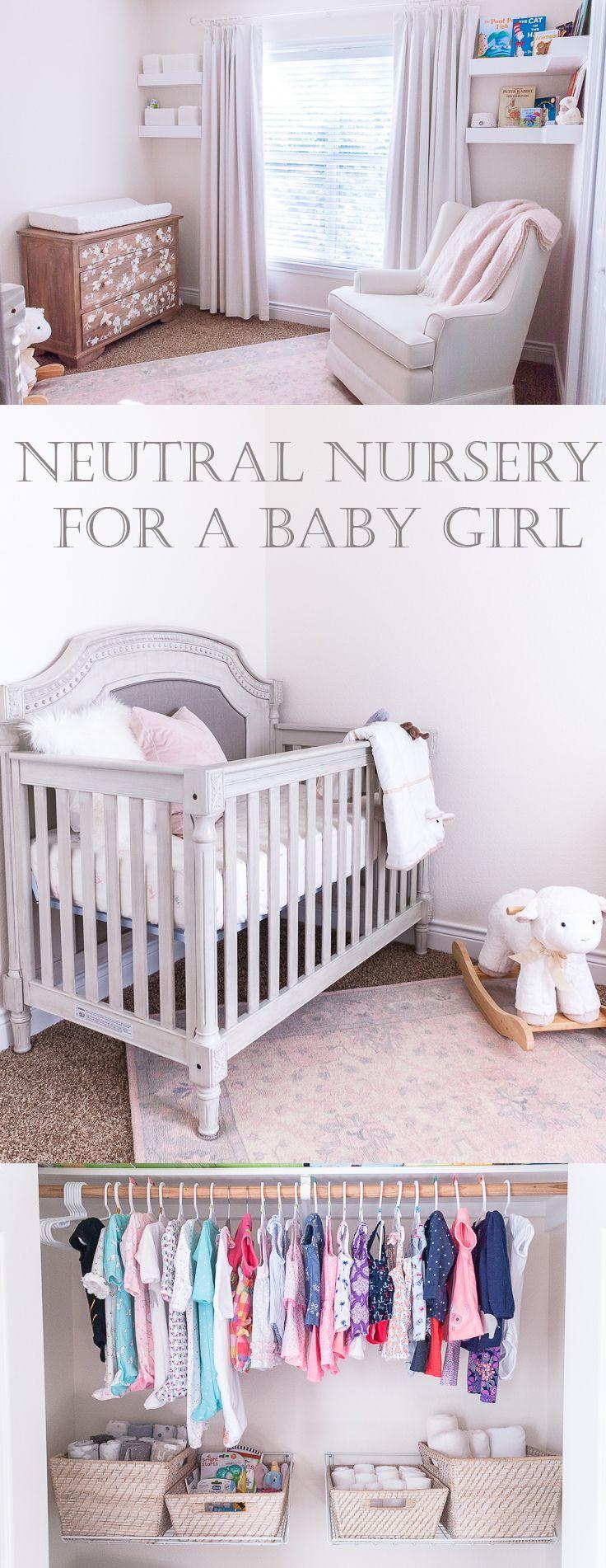Neutral Baby Girl Nursery: Baby Girl's Neutral Nursery