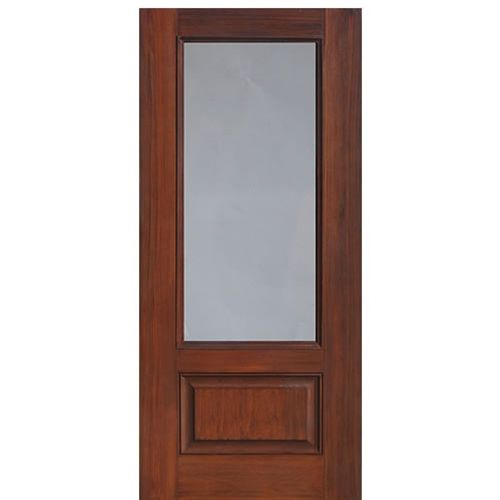 3 4 Lite Fiberglass Exterior Doors Frosted Glass Door Fiberglass Entry Doors