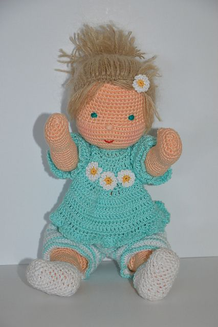 Free Pattern This Adorable Waldorf Inspired Baby Doll Makes A