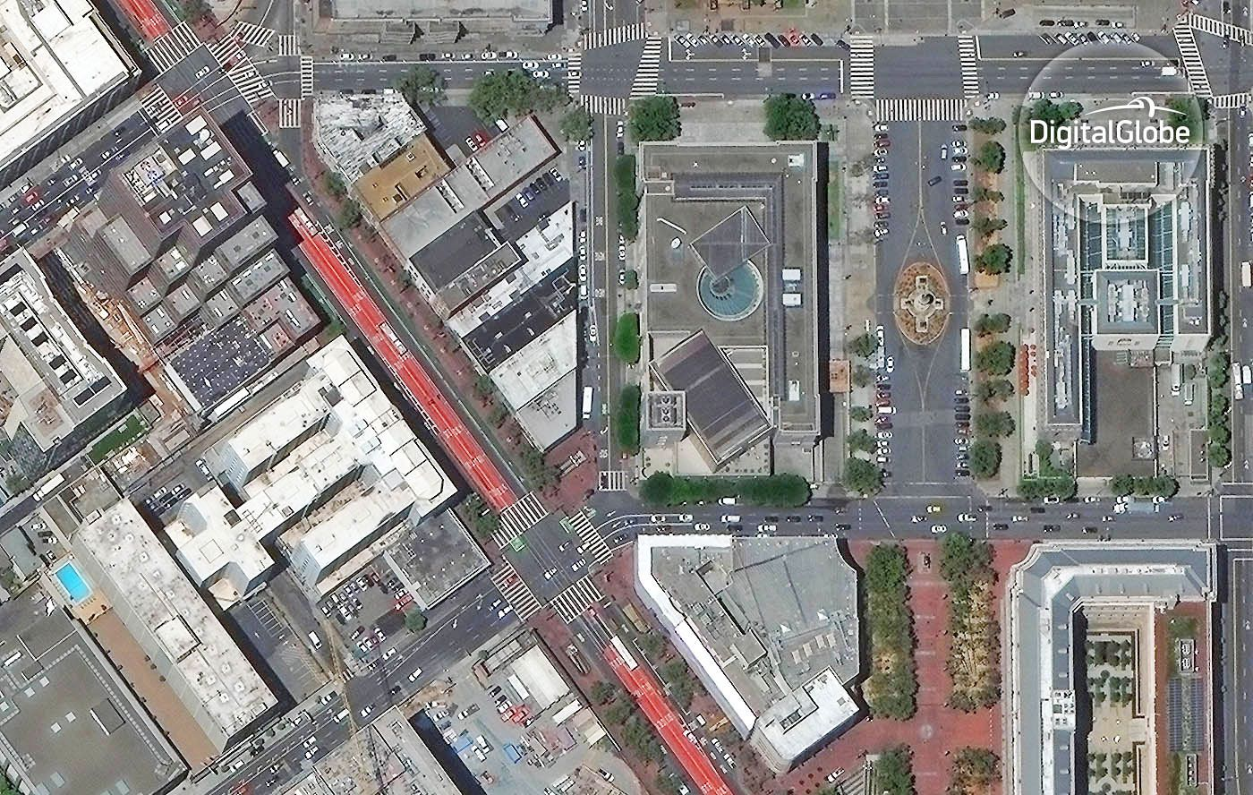 Uber Will Use High Res Satellite Imagery To Improve Pickups Best Location Satellites Imagery