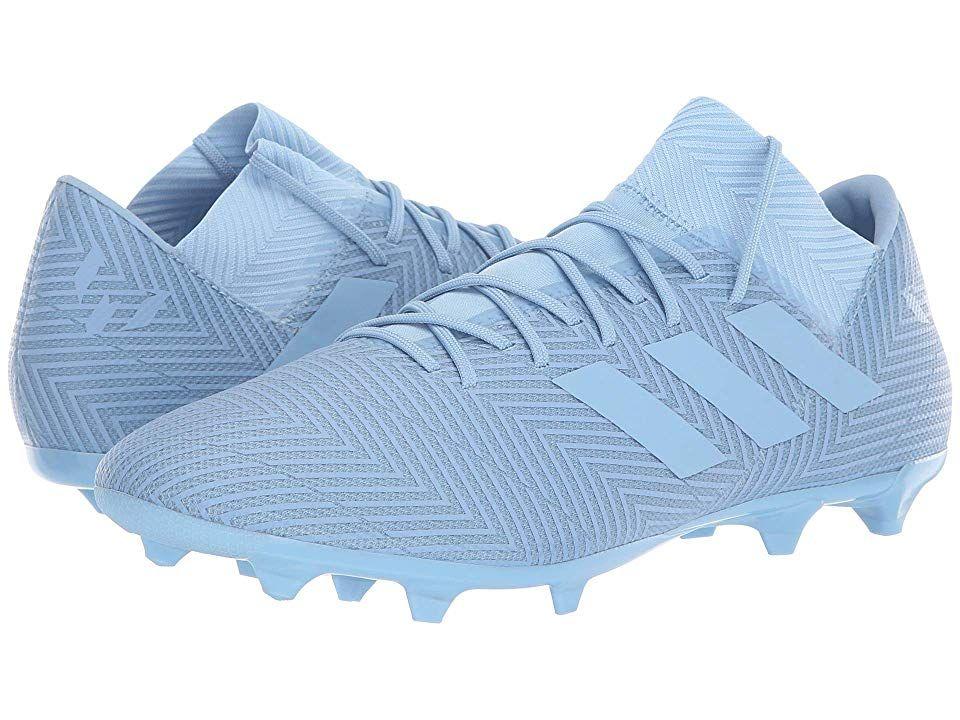 finest selection 880f3 b1072 adidas Nemeziz Messi 18.3 FG Men s Soccer Shoes Ash Blue Ash Blue Raw Grey