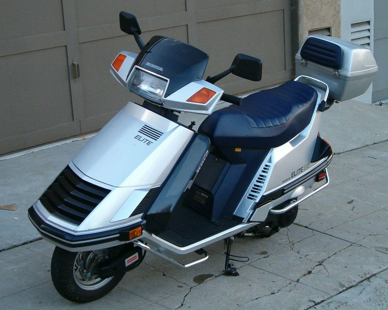 honda elite 125 150 motor scooter guide accessories. Black Bedroom Furniture Sets. Home Design Ideas
