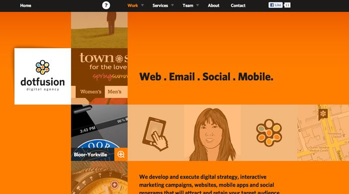 Dotfusion Digital Agency Interactive Marketing Award Winning Websites Web Design
