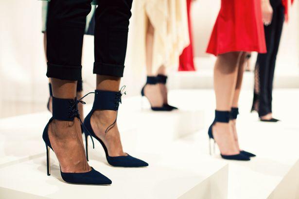 Wes Gordon - those shoes!