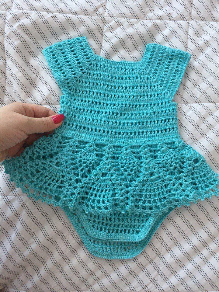 Vestido Tejidos De Bebe Ganchillo Bebe Vestidos Para