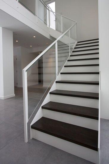 Best Modern Railings Custom Stairs Chicago Modern Staircase 640 x 480