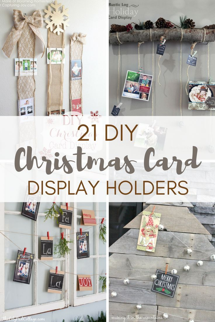 30 Creative Ways To Display Christmas Cards Diy Christmas Cards Christmas Card Display Christmas Card Holder Display