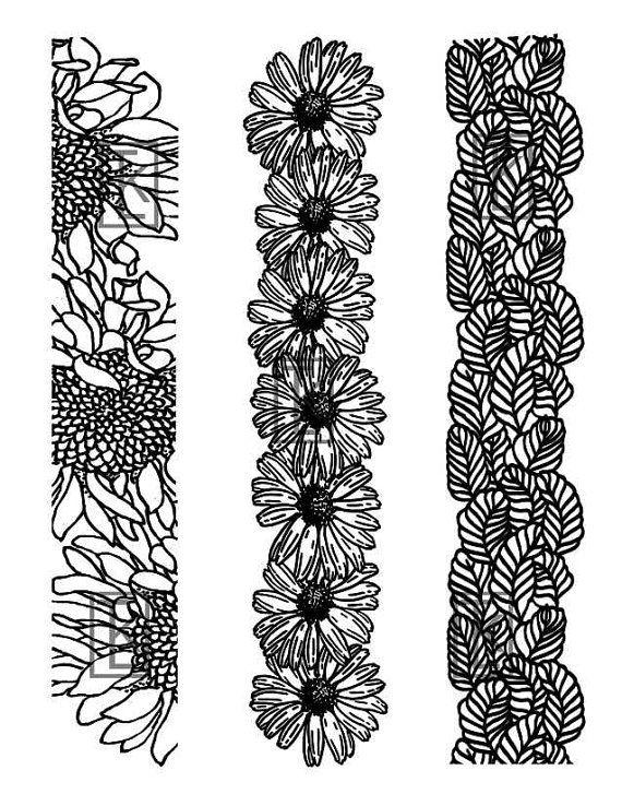 Nature Themed Bracelet Size 21 Silk Screens von tonjastreasures