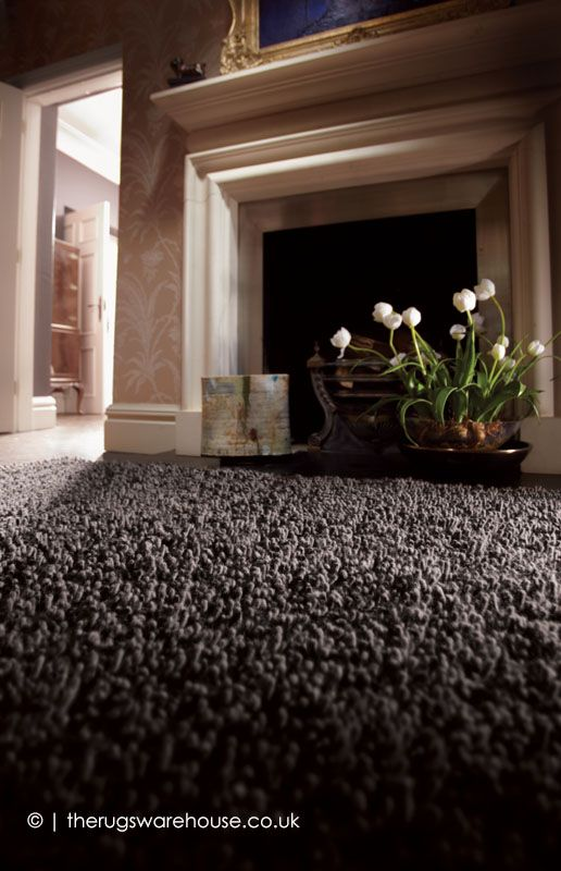 Imperial Shaggy Wool Rugs in Mid Mix buy online from the