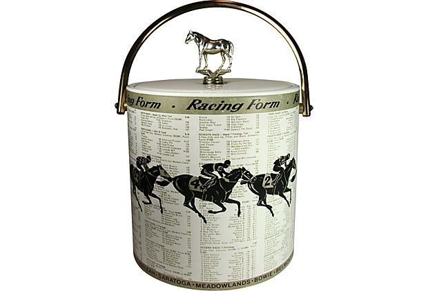 One Kings Lane - Vintage \ Designer Picks - Horse Racing Form Ice - racing form