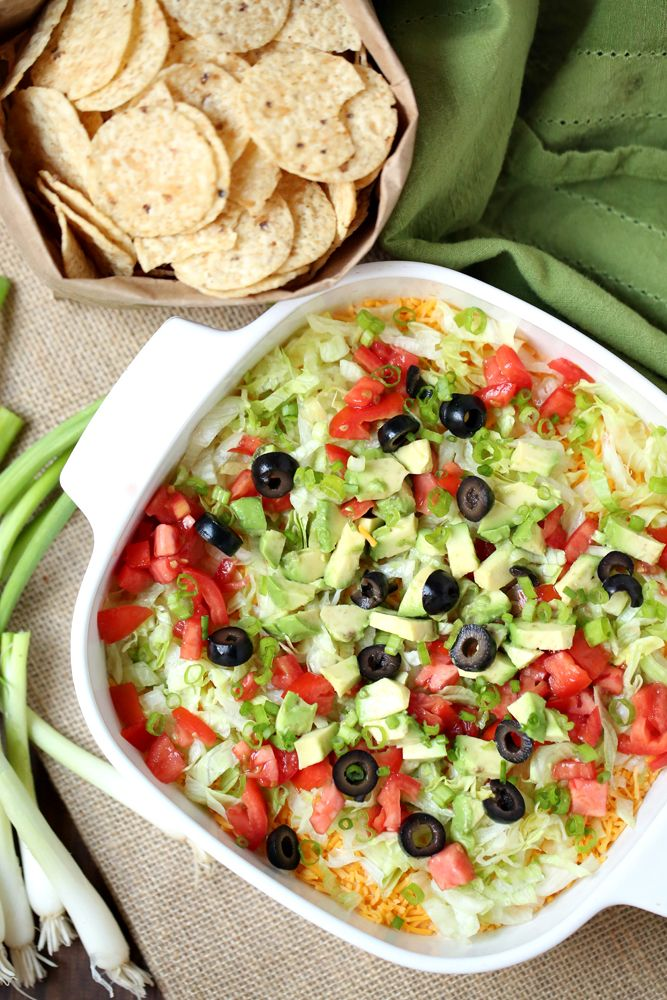 Weight Watchers Friendly Taco Dip with Cream Cheese 3 Smartpoints!