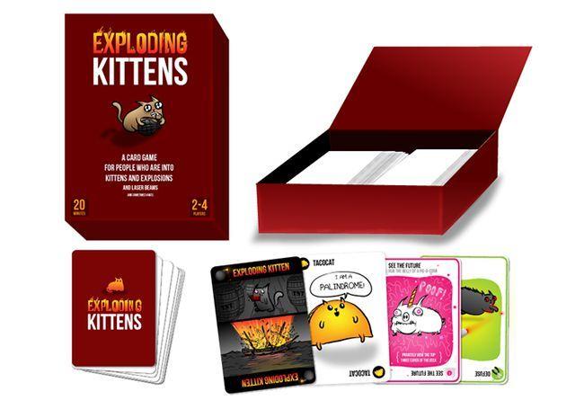 Exploding Kittens Card Game Nears 4 Million In Funding Exploding Kittens Card Game Exploding Kittens Set Card Game