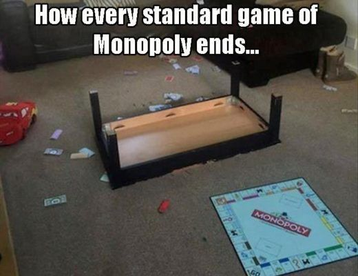 25 Funny Monopoly Pictures Memes Hahaha Pinterest Funny