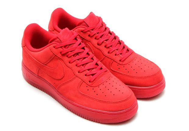 authentique sortie avec paypal Nike Air Force 1 Faible - Mens Solaire Rouge Blanc Et Bleu qualité supérieure rabais pas cher excellente Tv0oaS