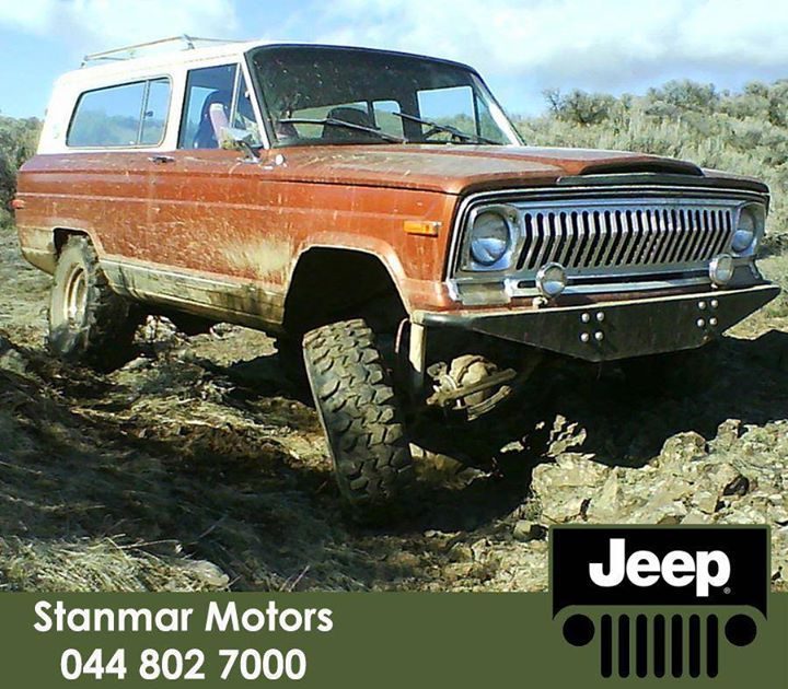 #TBT The #Jeep Cherokee 1st generation (SJ-series) 2-Door Wagon as produced in the year 1974 by North America U.S. and was one of the pioneers of the modern day Jeep Cherokee. #StanmarMotors