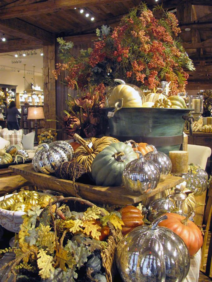 Pottery Barn lands in Edmonton Fall store displays