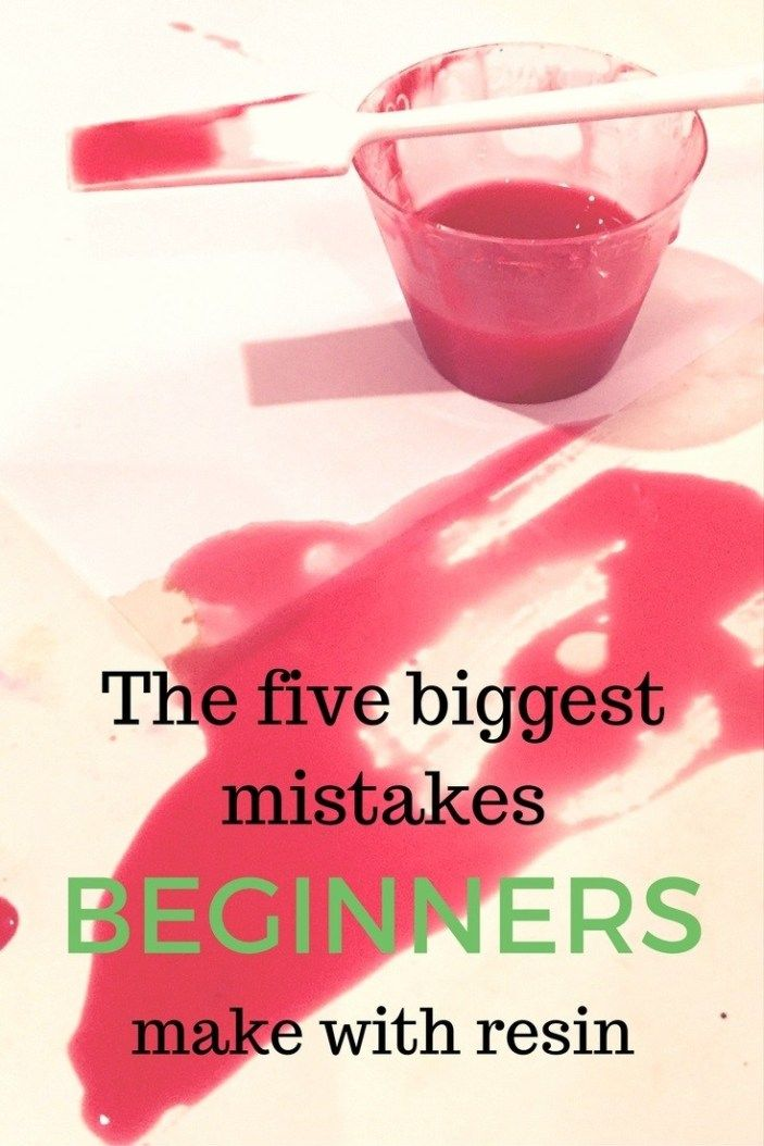 Photo of Mistakes beginners make with resin – Resin Obsession