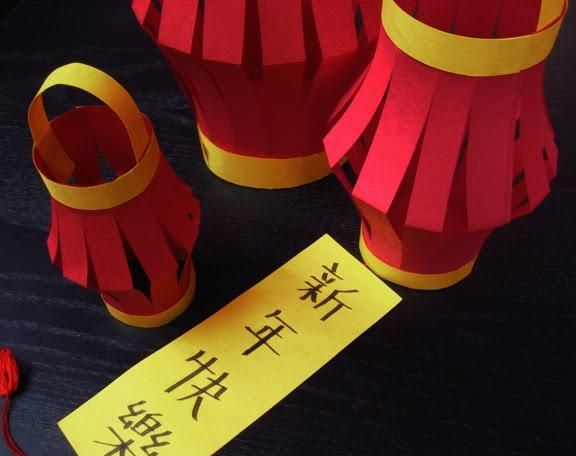 Diy Lanterns Diy Chinese Paper Lantern Chinese New Year Crafts