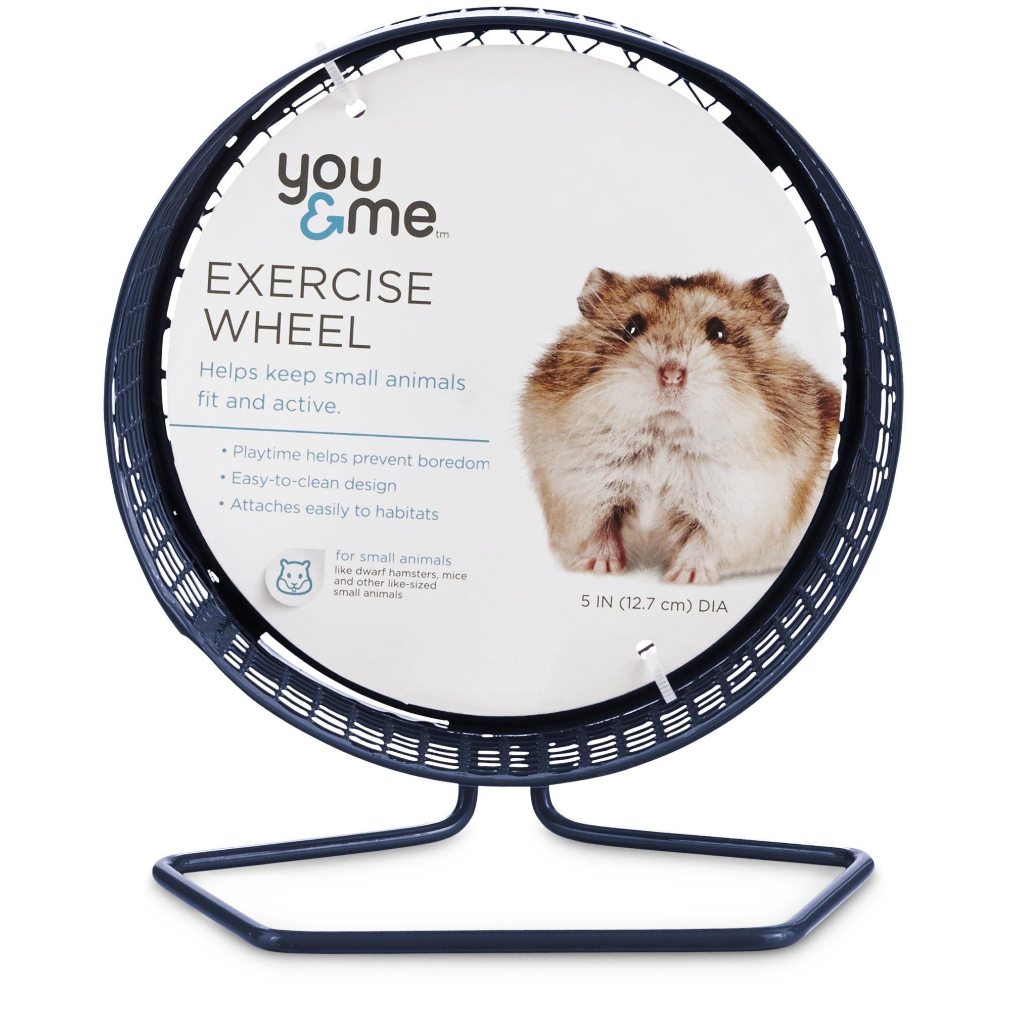 """You & Me Hamster Wheel, 5"""" Hamster wheel, Pet cage, Pet safe"""