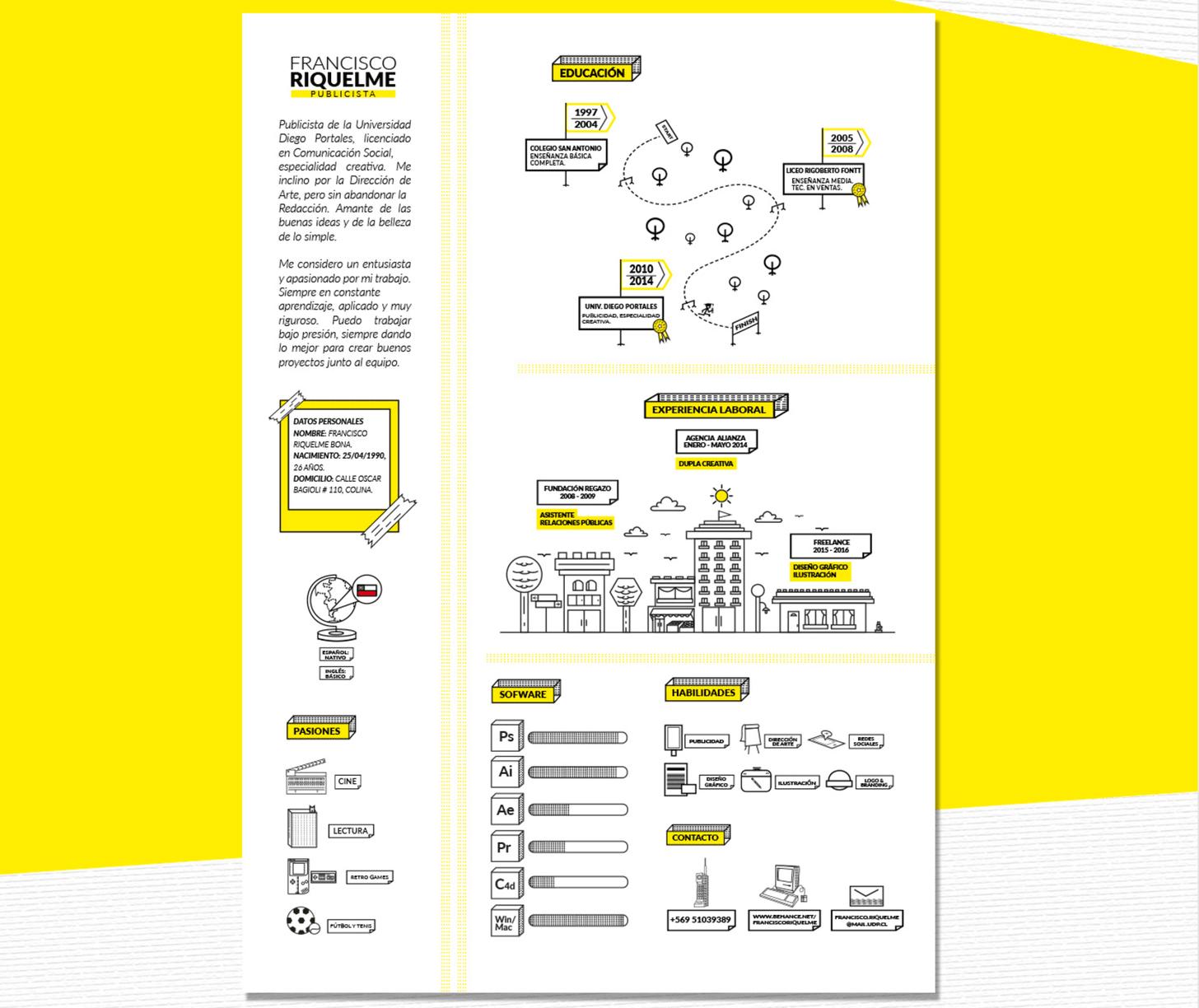image23 Resume design, Infographic resume, Resume