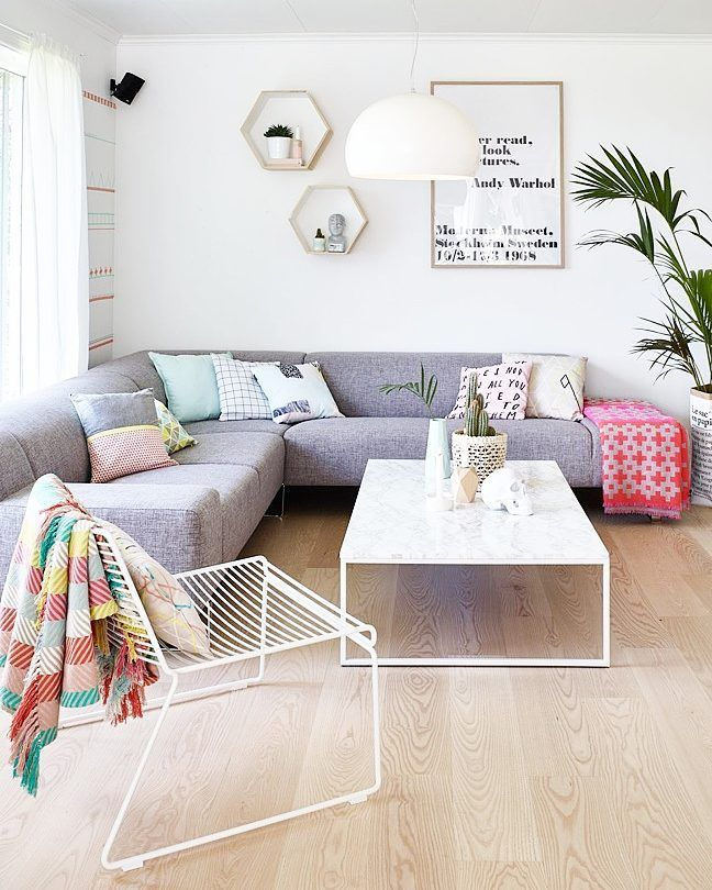 Save This Home Inspo To See How To Incorporate Color A Minimalist Decor  Scheme.