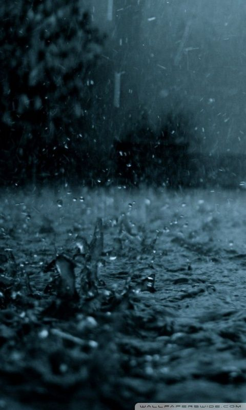 Raining Hd Wallpapers Hujan Fotografi Gambar